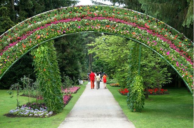Один из самых красивых парков в Европе