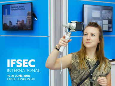 IFSEC 2018 and pain free video shooting