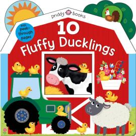 10 Fluffy Ducklings (Roger Priddy, Board Book, 9781684491292)
