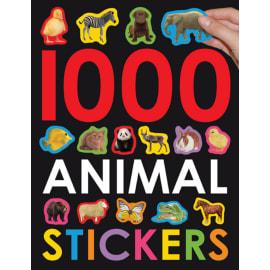 1000 Animal Stickers (Roger Priddy, Paperback, 9780312509415)