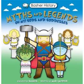 Basher History: Mythology (Mary Budzik, Paperback, 9780753446973)
