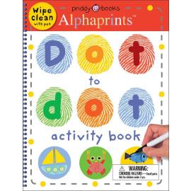 Alphaprints Dot To Dot Activity Book (Roger Priddy, Spiral Bound, 9780312528195)