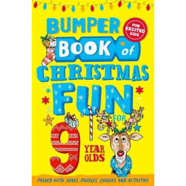 Bumper Book Of Christmas Fun For 9 Year Olds (Macmillan Children'S Books Mcb, Paperback, 9781529067033)