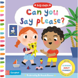Can You Say Please?: Learning About Manners (Marion Cocklico, Board Book, 9781529004045)