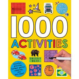 1000 Activities (Roger Priddy, Paperback, 9780312506506)