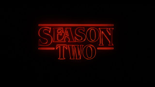 Stranger Things Season Two Promo