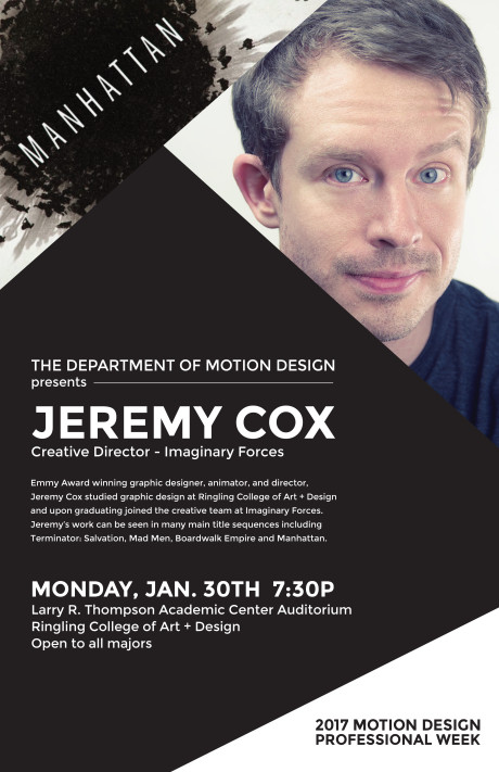 Jeremy Cox at Ringling School of Art and Design