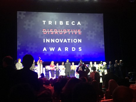 2018 Tribeca Disruptive Innovation Awards