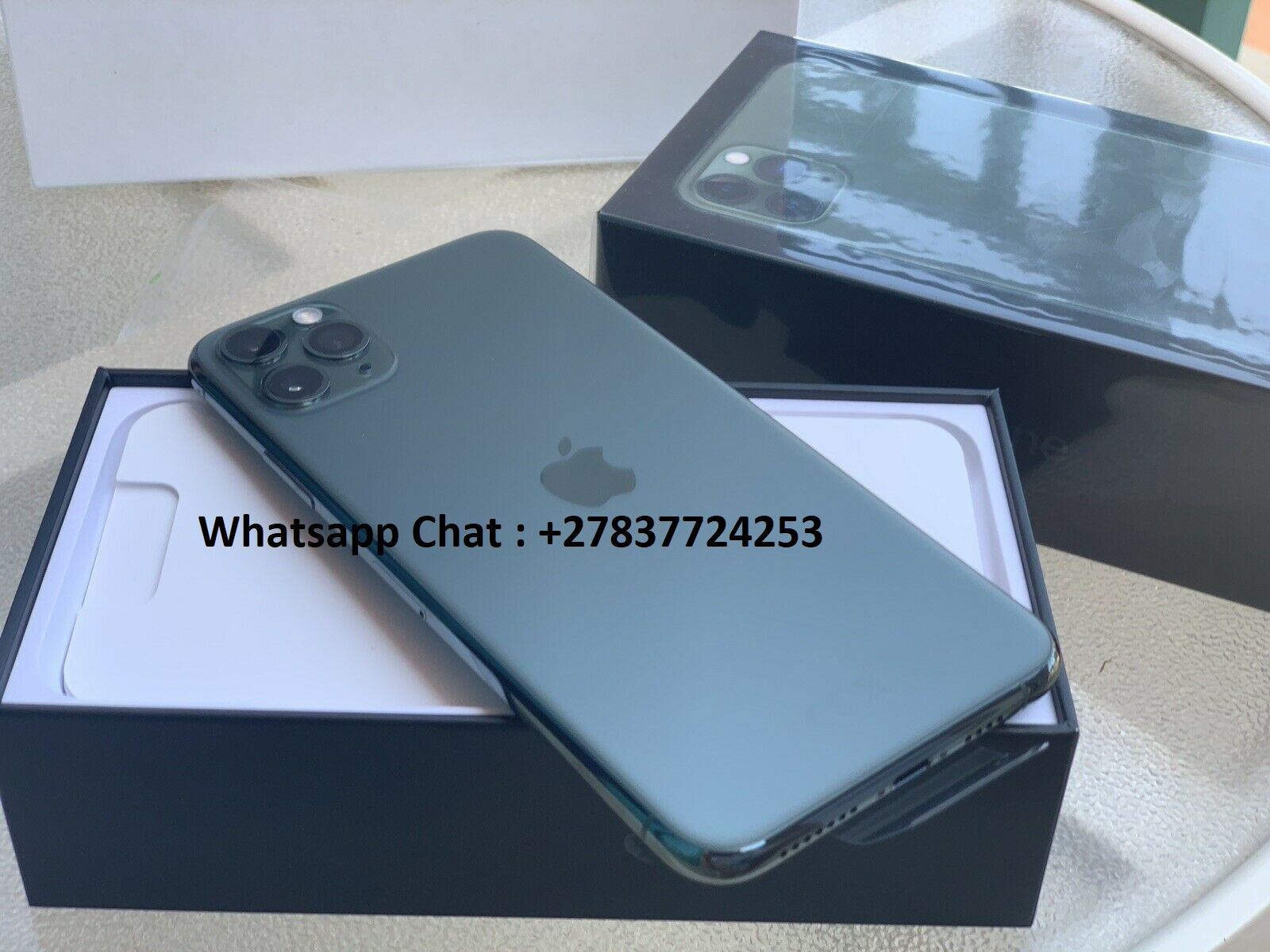 Apple iPhone 11 Pro 64GB  per 600 EUR, Apple iPhone  11 Pro Max 64GB per 650 EUR, Apple iPhone XS 64GB per 400 EUR,  Apple iPhone XS Max 64GB per 430EUR , Whatsapp Chat : +27837724253