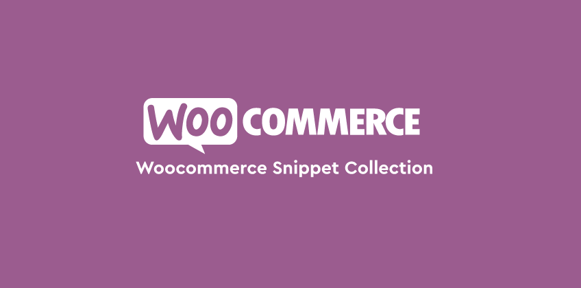 ☁ Cloud Server Wordpress - Woocommerce Snippet Collection 🥥