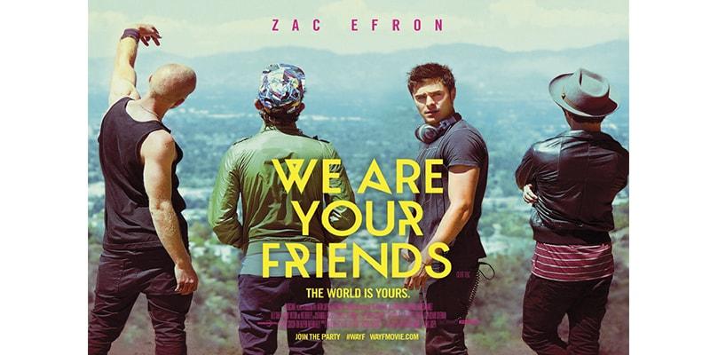We are your friends (Música, amigos y fiesta)