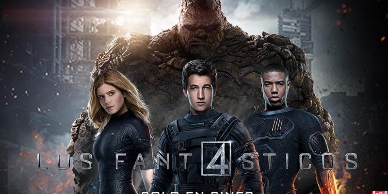 Los 4 (cuatro) fantásticos (2015)
