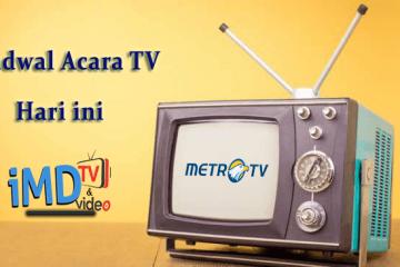 Jadwal Acara MetroTV Hari ini