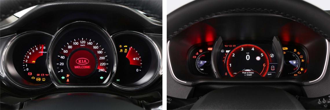 Las fotos del Kia Cee´d corresponden al acabado Tech. Las fotos del Renault Mégane corresponden al acabado Bose. Fotos cedidas por KM77.