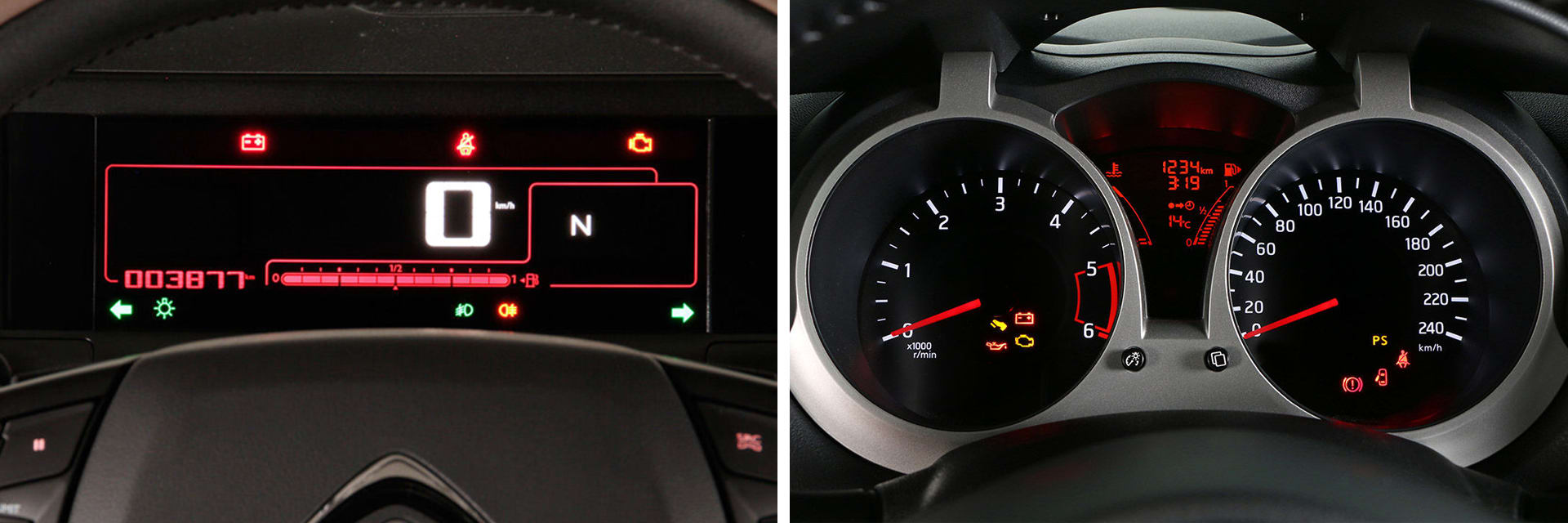Las fotos del Citroën Captur corresponden al acabado Shine. Las fotos del Nissan Juke corresponden al acabado N-Connecta. Fotos cedidas por KM77.