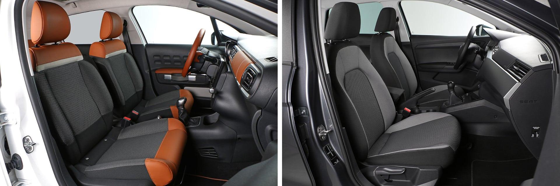 Las fotos del Citroën C3 corresponden a la versión indicada. Las fotos del SEAT Ibiza corresponden a la versión indicada. Fotos cedidas por km77.
