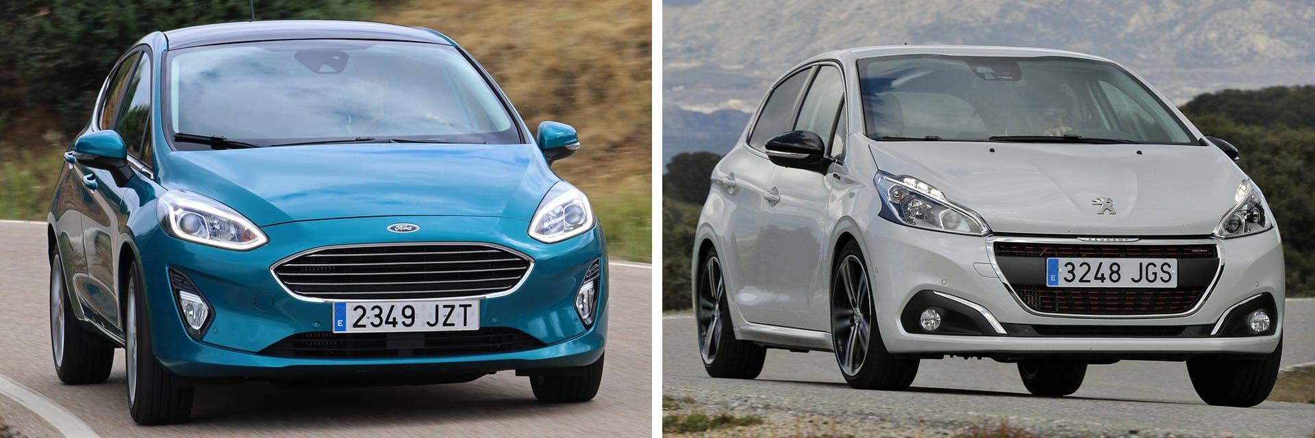 El Ford Fiesta es algo más rápido realizando adelantamientos: acelera de 80 a 120 km/h en 6,8 segundos, frente a los 7,5 del Peugeot.