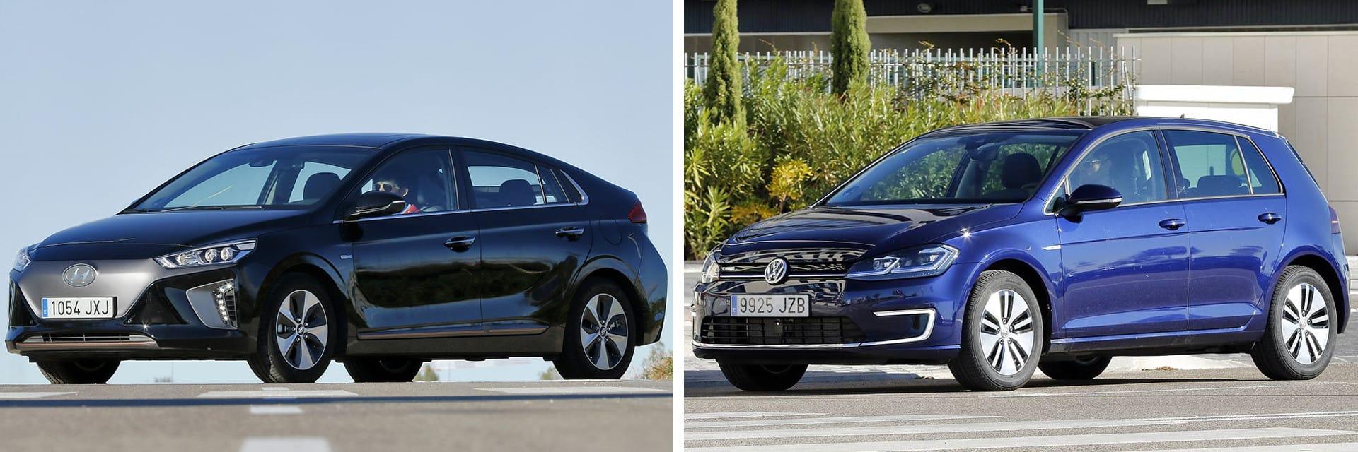 El Volkswagen (izq.) tiene un tacto más preciso y responde con mayor rapidez y fuerza. El Hyundai (dcha.) tiene mejores suspensiones.