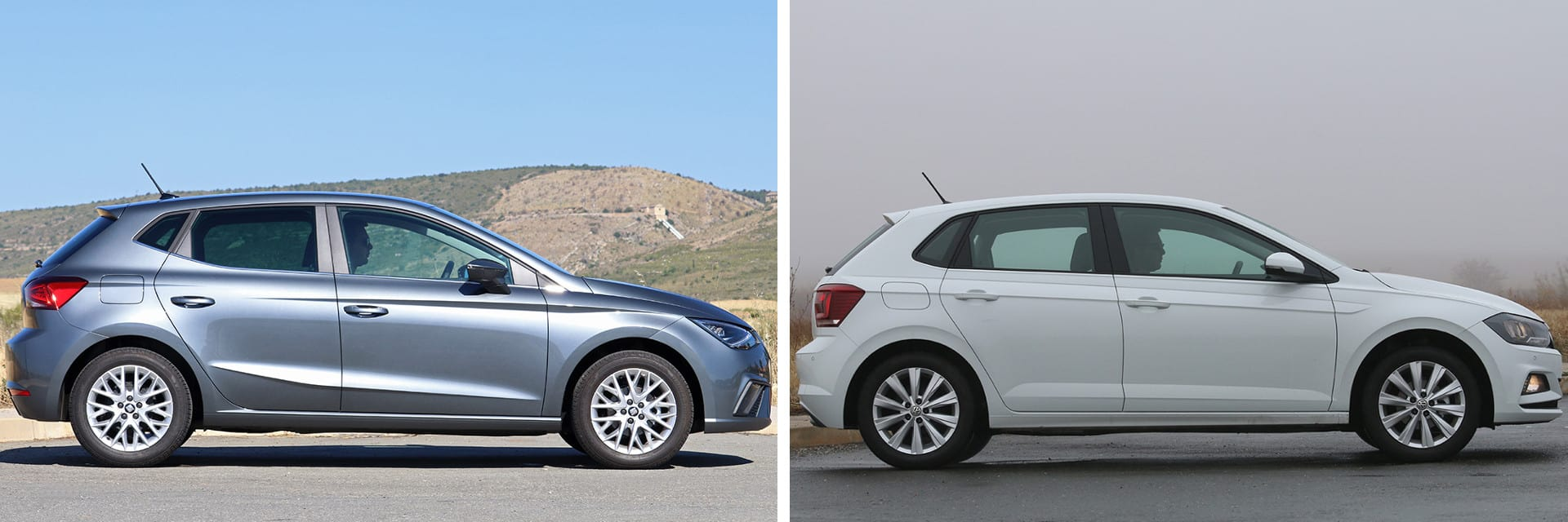 Ambos vehículos responden con un poco de lentitud al salir desde parado.