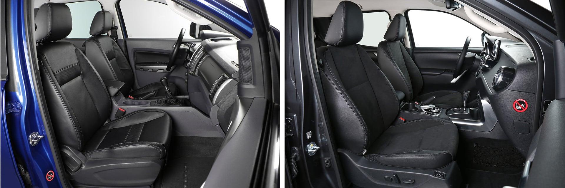 Los asientos delanteros pueden tener tanto calefacción como ajustes eléctricos.