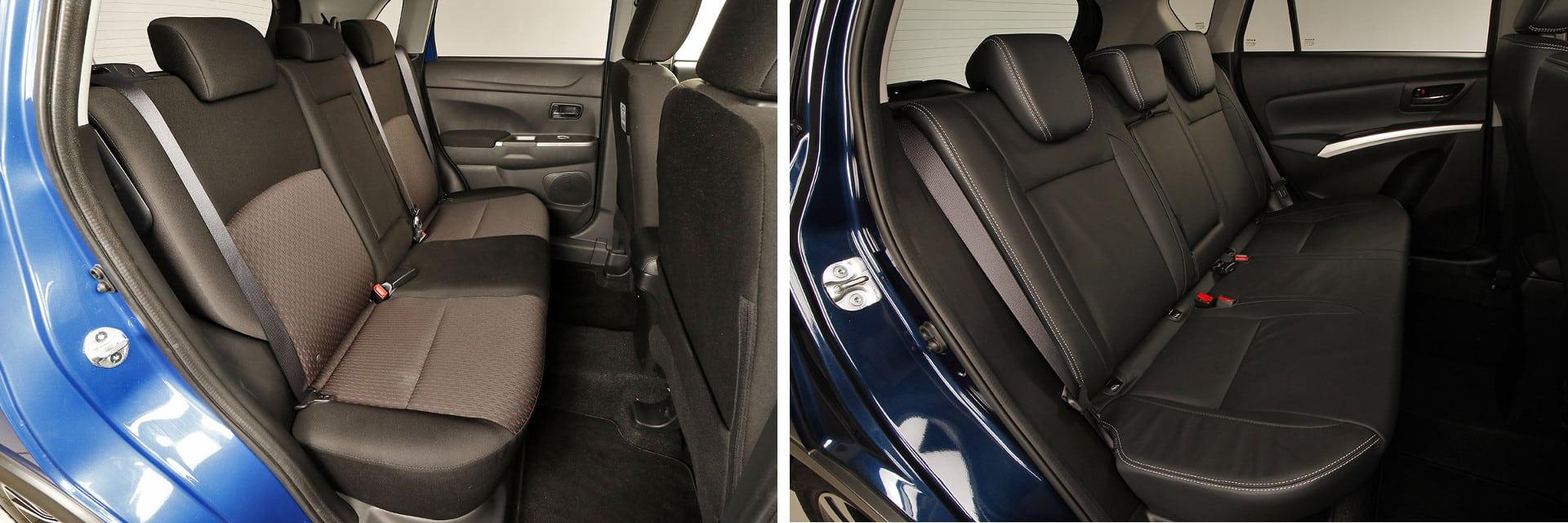 Los asientos traseros cuentan con el espacio suficiente como para acomodar a dos personas de estatura media alta.