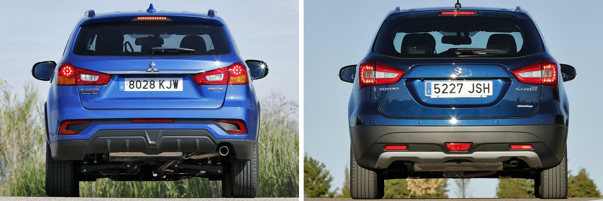Estos dos coches tienen una distancia libre al suelo de 180 milímetros, más que suficiente para rodar por caminos que no estén perfectos.