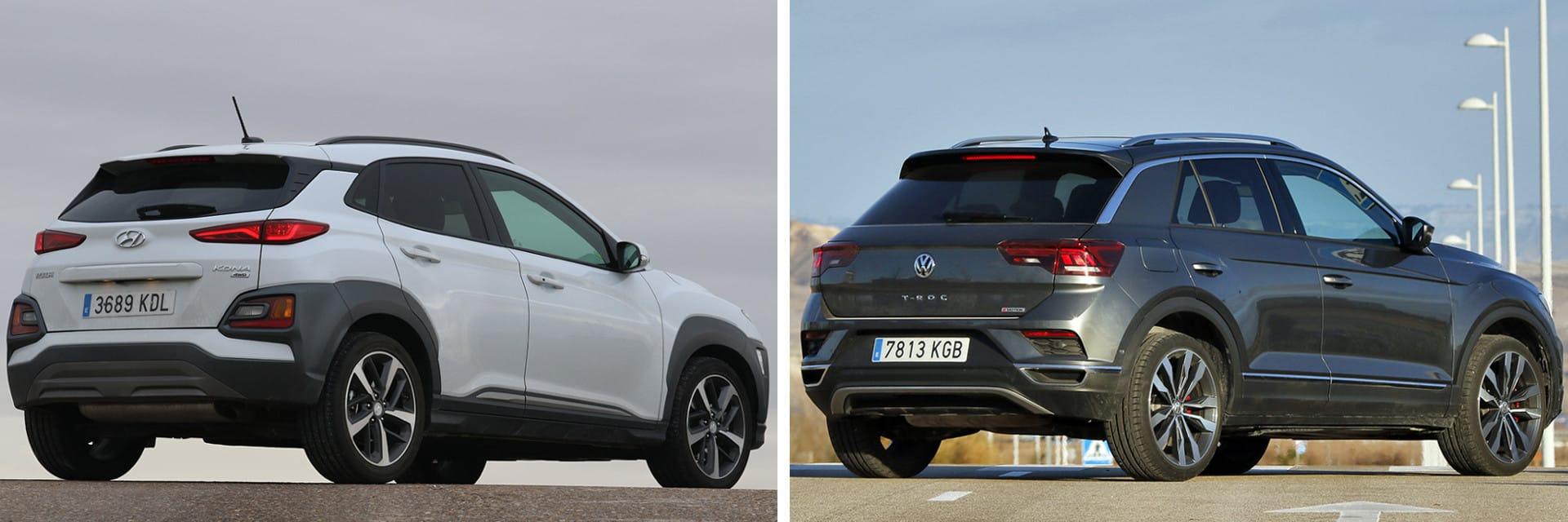 Ambos coches permiten adelantar en poco espacio y ganar velocidad con facilidad entre curva y curva.