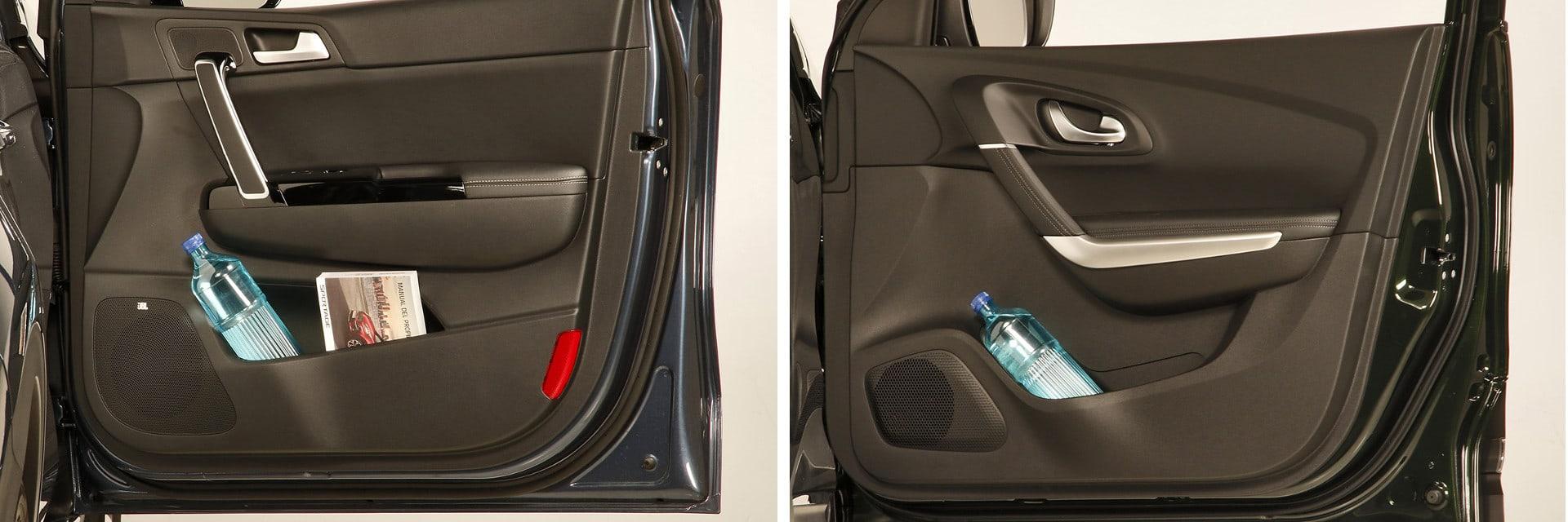 Ambos modelos tienen suficientes espacios en el interior para almacenar pequeños objetos del día a día. / km77