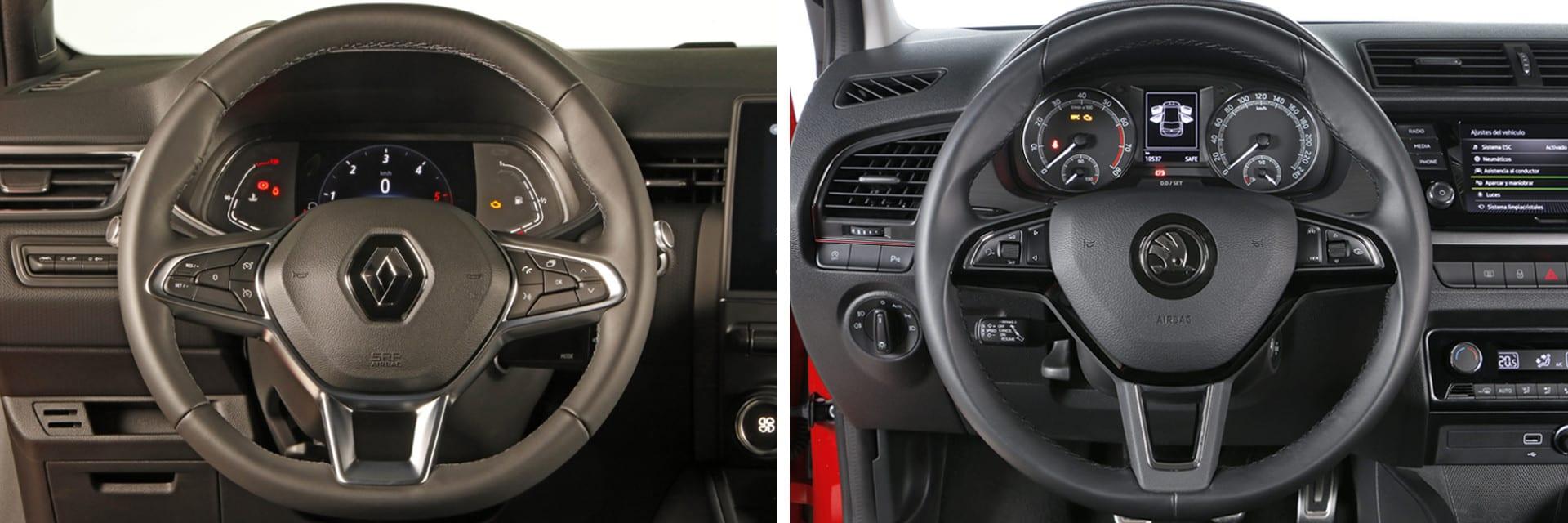 En ambos vehículos es fácil que personas de diferentes tallas se encuentren a gusto al  permitir grandes ajustes tanto en el volante y como en el asiento. / km77