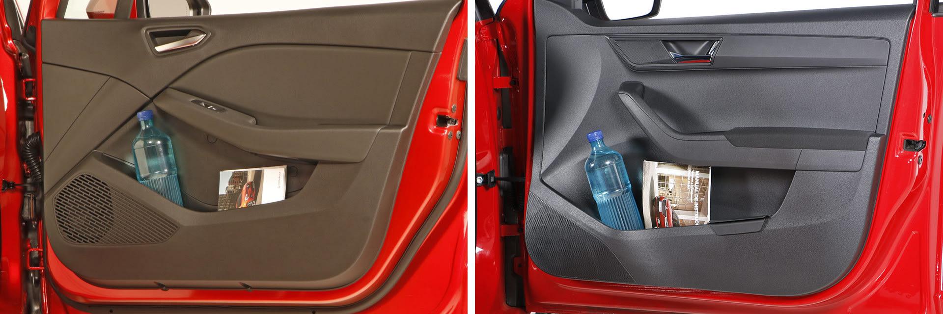 Los dos vehículos cuentan con suficientes guanteras y huecos para dejar los objetos del día a día. / km77