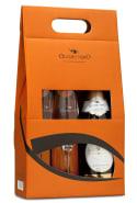 Espumante Occhio Nero Moscato 750 ml com 02 Taças (Kits)