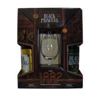 Cerveja Black Princess 01unid. Escura, 01unid. Gold com 01 Taça (Kits)
