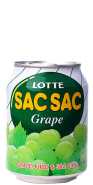 Lotte De Uva Verde com Fruta Lata 238 ml