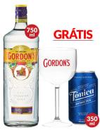 Combo Gin Tônica Gordon's + Taça