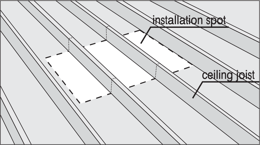 Attic Access Framing Perpendicular to Joists
