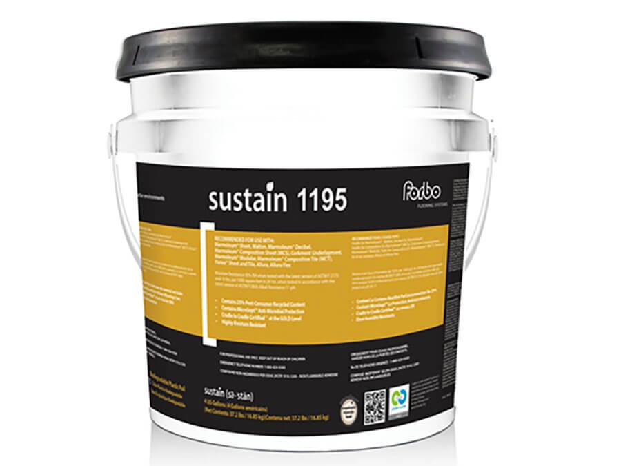 sustain 1195 0 voc adhesive