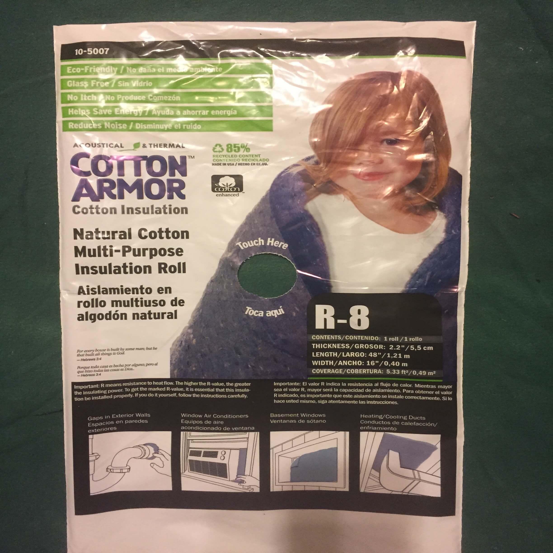 Applegate Multi Purpose Natural Cotton Insulation