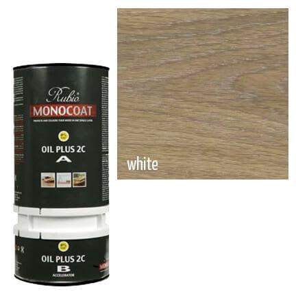 rubio monocoat oil plus 2c white