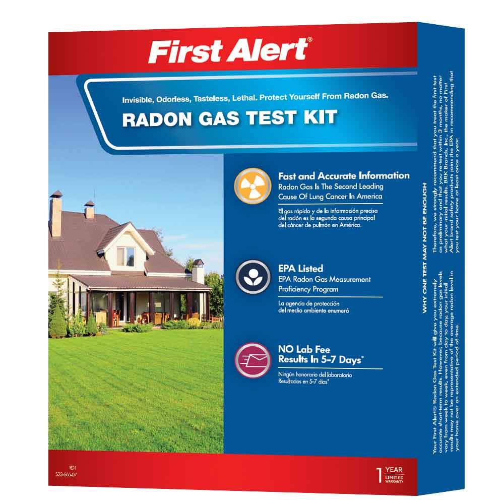 First Alert Radon Test Kit (RD1)