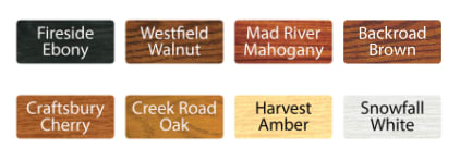 Vermont Natural Coatings all-in-one Stain and Finish color selection