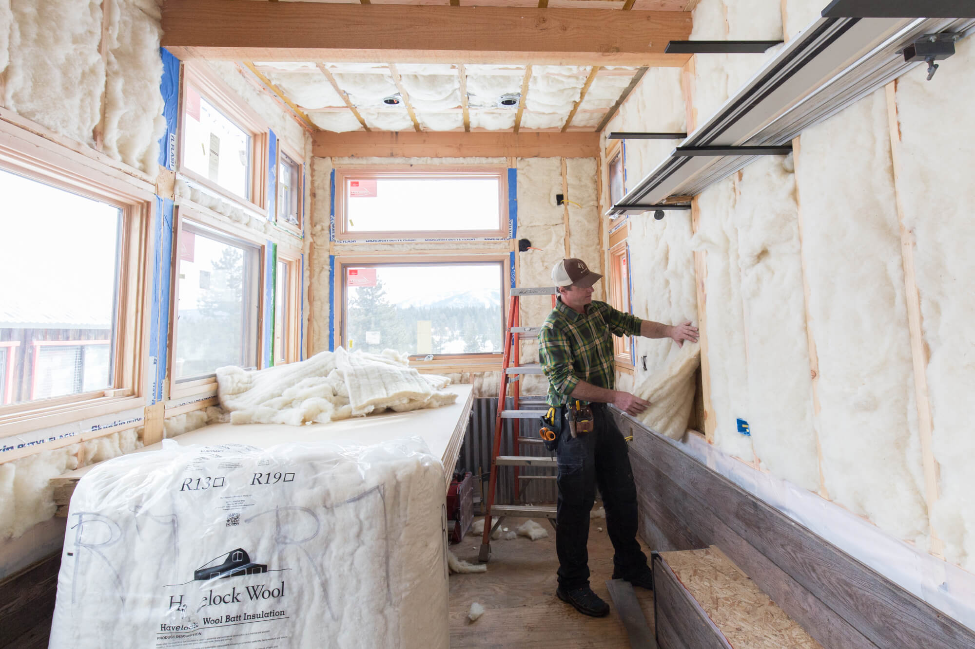 Havelock Wool is ideal for Tiny Houses