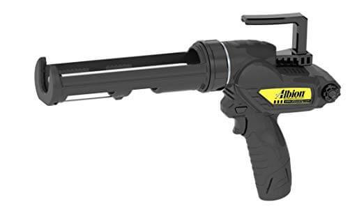 Albion E12 cordless 12v caulk gun for 10.1 ounce cartridges