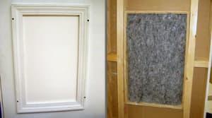Sealin Hatch Attic Knee-Wall Access