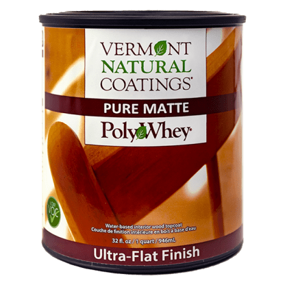 Vermont Natural Coatings Pure Matte Ultra Flat Finish