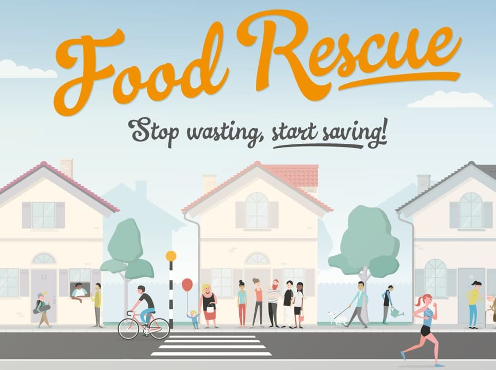 Google Sainsburys Food Rescue