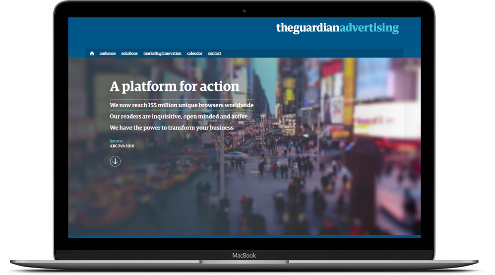 Guardian Advertising Screen 01
