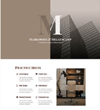Law Firm, Solicitor, Accountant web design