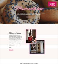 Baking Shop, Cupcakes website