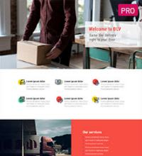 Parcel Service, Man with a van website