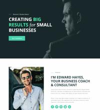 Business coach, consultant web design